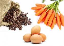 Zanahoria, el Huevo y el Café